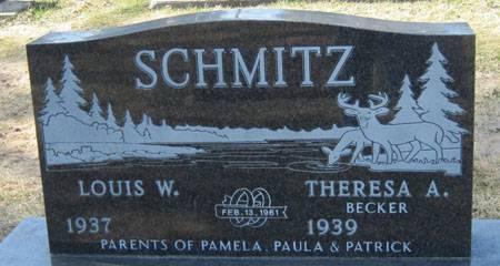BECKER SCHMITZ, THERESA A. - Black Hawk County, Iowa | THERESA A. BECKER SCHMITZ