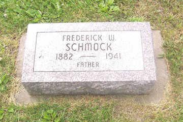SCHMOCK, FREDERICK W. - Black Hawk County, Iowa   FREDERICK W. SCHMOCK
