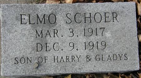 SCHOER, ELMO - Black Hawk County, Iowa | ELMO SCHOER