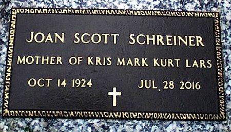 SCOTT SCHREINER, JOAN - Black Hawk County, Iowa | JOAN SCOTT SCHREINER