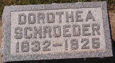 SCHROEDER, DOROTHEA - Black Hawk County, Iowa | DOROTHEA SCHROEDER