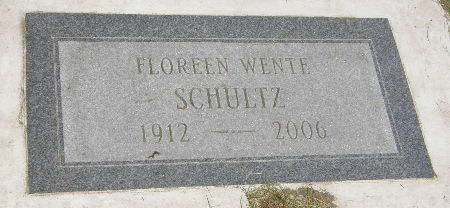 SCHULTZ, FLOREEN - Black Hawk County, Iowa | FLOREEN SCHULTZ