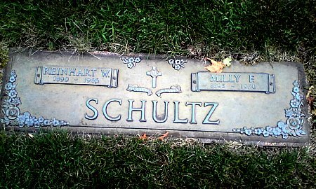 SCHULTZ, MILLY F. - Black Hawk County, Iowa | MILLY F. SCHULTZ