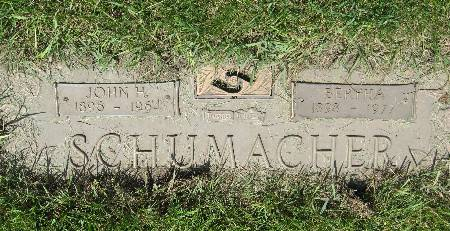 SCHUMACHER, BERTHA - Black Hawk County, Iowa | BERTHA SCHUMACHER