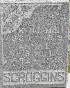 SCROGGINS, ANNA L. - Black Hawk County, Iowa | ANNA L. SCROGGINS