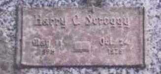 SCROGGY, HARRY O. - Black Hawk County, Iowa   HARRY O. SCROGGY