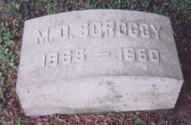 SCROGGY, M.D. - Black Hawk County, Iowa | M.D. SCROGGY