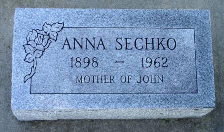 SECHKO, ANNA - Black Hawk County, Iowa | ANNA SECHKO
