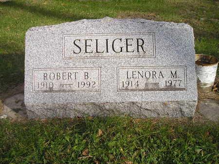 SELIGER, LENORA M - Black Hawk County, Iowa | LENORA M SELIGER