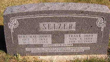 LOOMIS SELZER, LENA MAE - Black Hawk County, Iowa | LENA MAE LOOMIS SELZER