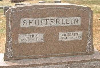 SEUFFERLEIN, FRIEDRICH - Black Hawk County, Iowa | FRIEDRICH SEUFFERLEIN