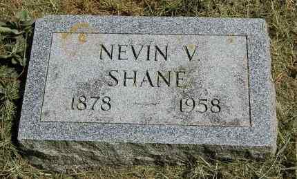 SHANE, NEVIN V. - Black Hawk County, Iowa | NEVIN V. SHANE