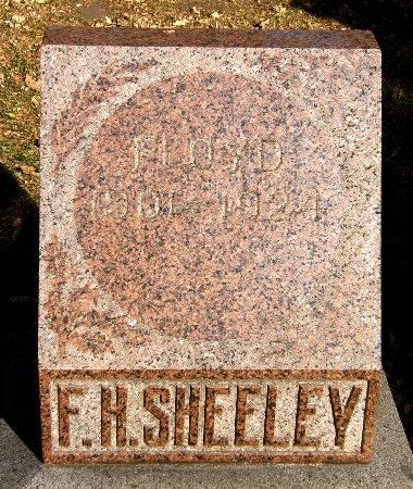 SHEELEY, F. H. FLOYD - Black Hawk County, Iowa | F. H. FLOYD SHEELEY