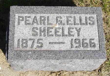 SHEELEY, PEARL G. - Black Hawk County, Iowa | PEARL G. SHEELEY