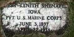 SHENAFEL, ?ERT KENITH - Black Hawk County, Iowa   ?ERT KENITH SHENAFEL