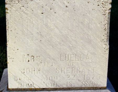 SHERRATT, LUELLA - Black Hawk County, Iowa | LUELLA SHERRATT