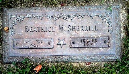 SHERRILL, BEATRICE M. - Black Hawk County, Iowa | BEATRICE M. SHERRILL