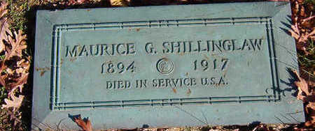 SHILLINGLAW, MAURICE G. - Black Hawk County, Iowa | MAURICE G. SHILLINGLAW