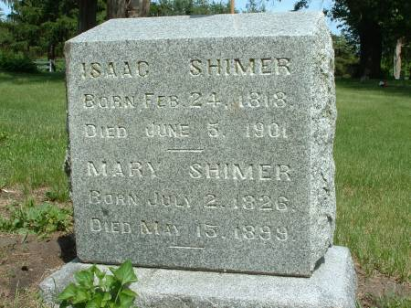 DOBSON SHIMER, MARY - Black Hawk County, Iowa | MARY DOBSON SHIMER