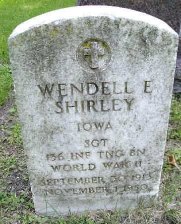 SHIRLEY, WENDELL E. - Black Hawk County, Iowa | WENDELL E. SHIRLEY