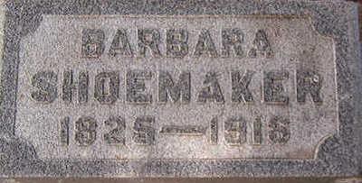 SHOEMAKER, BARBARA - Black Hawk County, Iowa   BARBARA SHOEMAKER
