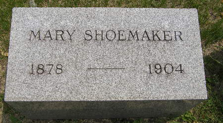 SHOEMAKER, MARY - Black Hawk County, Iowa | MARY SHOEMAKER