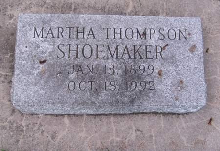 SHOEMAKER, MARTHA - Black Hawk County, Iowa | MARTHA SHOEMAKER