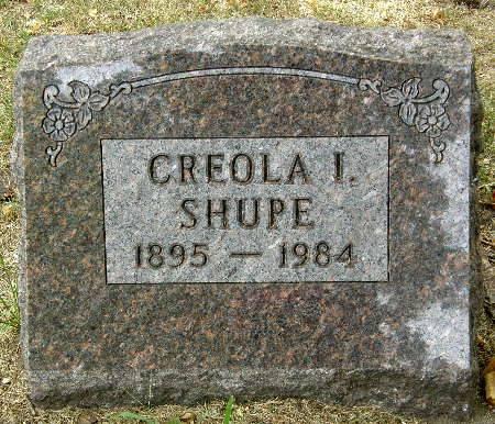 SHUPE, CREOLA I. - Black Hawk County, Iowa | CREOLA I. SHUPE