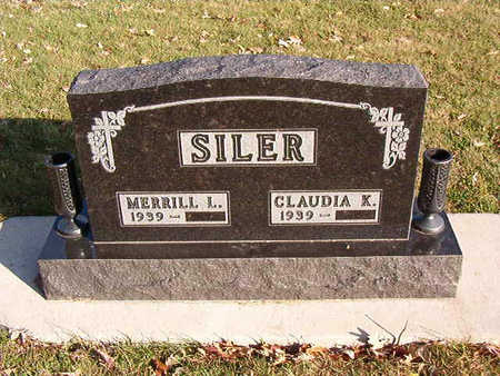 SILER, CLAUDIA K. - Black Hawk County, Iowa | CLAUDIA K. SILER
