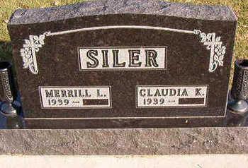 SILER, MERRILL  L. - Black Hawk County, Iowa | MERRILL  L. SILER