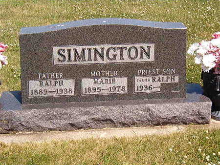 SIMINGTON, MARIE - Black Hawk County, Iowa | MARIE SIMINGTON