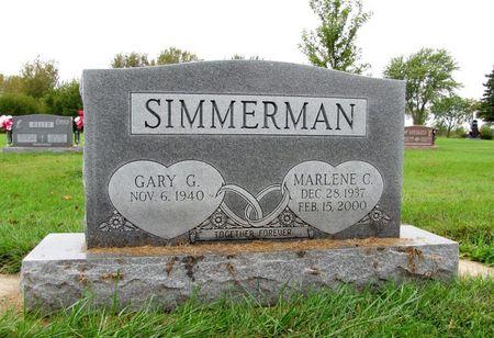 SIMMERMAN, MARLENE C. - Black Hawk County, Iowa   MARLENE C. SIMMERMAN