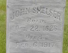 SMELSER, JOHN - Black Hawk County, Iowa   JOHN SMELSER