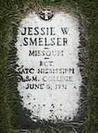 SMELSER, JESSIE W. - Black Hawk County, Iowa   JESSIE W. SMELSER