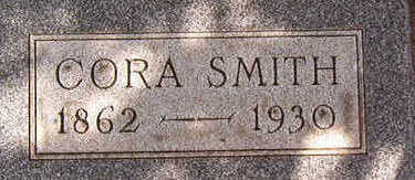 SMITH, CORA - Black Hawk County, Iowa | CORA SMITH