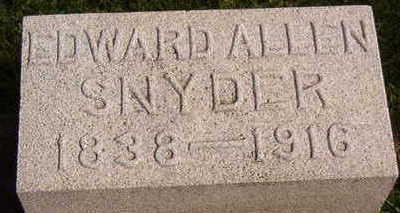 SNYDER, EDWARD ALLEN - Black Hawk County, Iowa | EDWARD ALLEN SNYDER