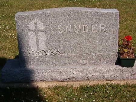 SNYDER, FRED L. - Black Hawk County, Iowa | FRED L. SNYDER