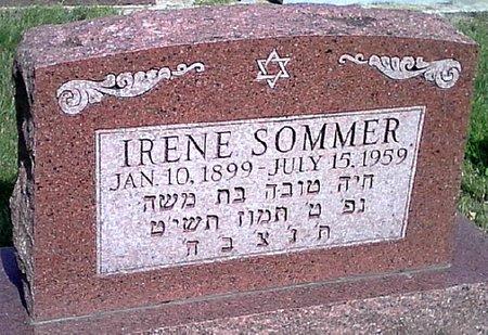 SOMMER, IRENE - Black Hawk County, Iowa | IRENE SOMMER