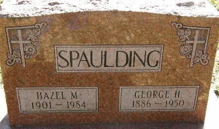 SPAULDING, GEORGE H. - Black Hawk County, Iowa | GEORGE H. SPAULDING