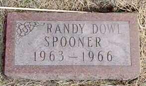 SPOONER, RANDY DOWL - Black Hawk County, Iowa   RANDY DOWL SPOONER
