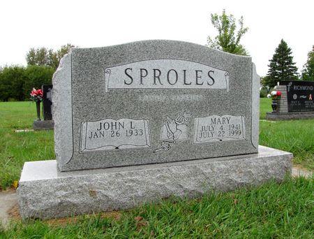 SPROLES, MARY - Black Hawk County, Iowa | MARY SPROLES