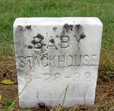 STACKHOUSE, BABY - Black Hawk County, Iowa | BABY STACKHOUSE