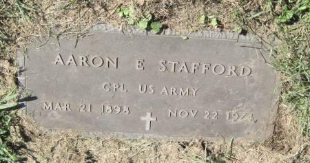 STAFFORD, AARON E. - Black Hawk County, Iowa | AARON E. STAFFORD