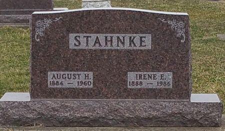 STAHNKE, IRENE E. - Black Hawk County, Iowa   IRENE E. STAHNKE
