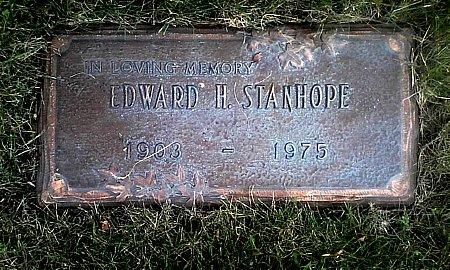 STANHOPE, EDWARD H. - Black Hawk County, Iowa | EDWARD H. STANHOPE