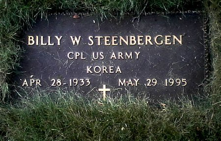 STEENBERGEN, BILLY W. - Black Hawk County, Iowa | BILLY W. STEENBERGEN
