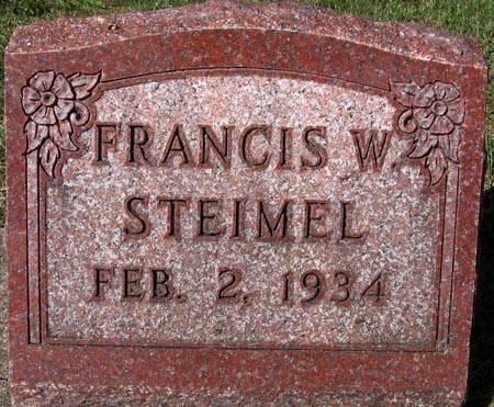 STEIMEL, FRANCIS W. - Black Hawk County, Iowa | FRANCIS W. STEIMEL