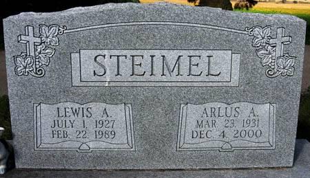 STEIMEL, ARLUS A. - Black Hawk County, Iowa | ARLUS A. STEIMEL