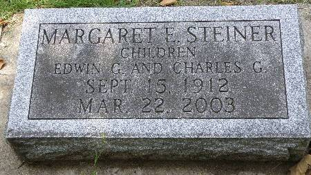 STEINER, MARGARET - Black Hawk County, Iowa | MARGARET STEINER