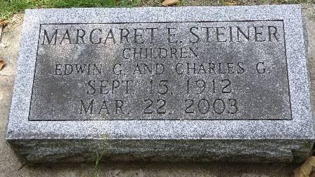 STARK STEINER, MARGARET - Black Hawk County, Iowa | MARGARET STARK STEINER